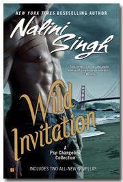 wild invitation with shadow