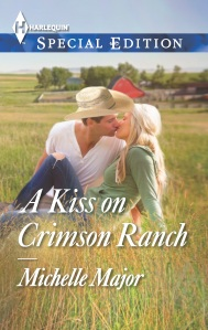 A Kiss on Crimson Ranch cover